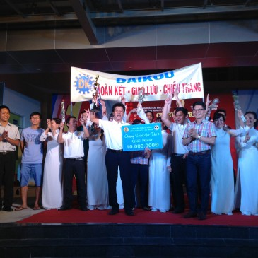 "Daikou Vietnam won the first prize in ""Gio thu 9"" program in 2016."