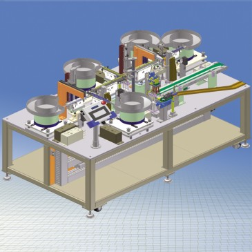 Designing-Producing automatic machine